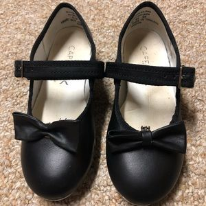 Capezio Black Leather Tap Shoes, Size 11